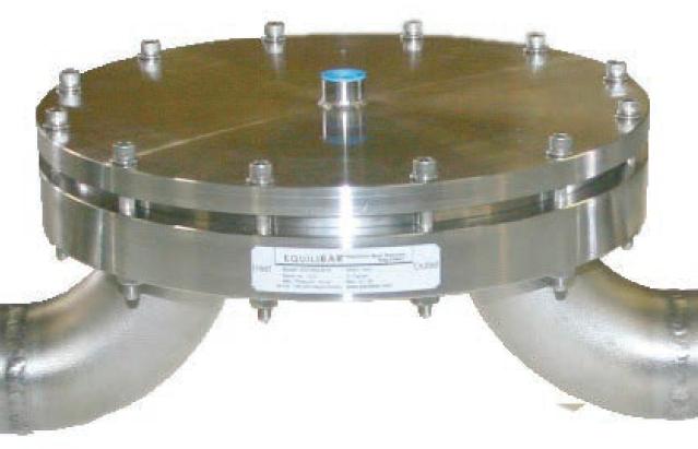 """Vanne de régulation Equilibar BD16 - 2 """", en acier inoxydable 316"""